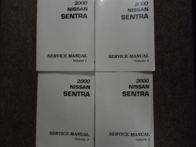 Diagram  1988 Nissan Sentra Service Shop Repair Set Oem Service And The Wiring Diagrams Full