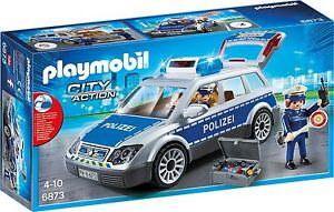 PLAYMOBIL-Jungen-Polizei-Kinderspiel-Einsatzwagen-Spielzeug-Motorik-Spiel