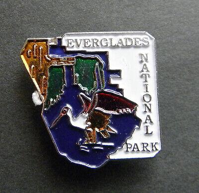 FLORIDA EVERGLADES NATIONAL PARK UNITED STATES LAPEL PIN BADGE 1 INCH