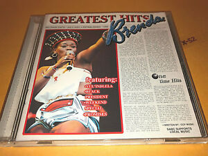 Details about BRENDA FASSIE (MaBrrr) cd 20 GREATEST HITS vul'indlela BLACK  PRESIDENT promises