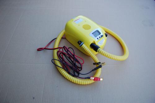 12V Electric Air Pump For Avon Achilles Mercury Zodiac /& Inflatable Boats
