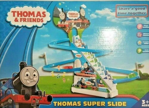 Thomas Train  Slide Race Classic Racer Track With Rhythmic Music Xmas Gift