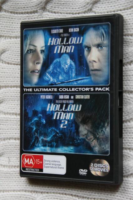 Hollow Man  / Hollow Man 02 (DVD, 2007, 2-Disc Set), Like new, free shipping