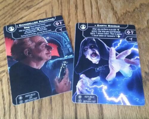 Star Wars xwing 2.0 GENERAL Custom Alt-Art Cards for X-Wing Second Edition
