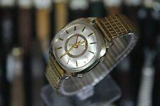 1970 BULOVA ACCUTRON Mark II 14K Gold Filled Tuning Fork Men's Dress Watch