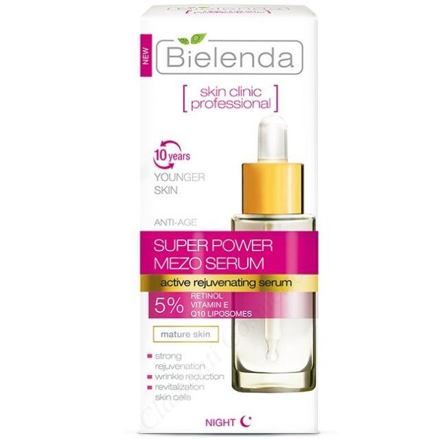 Bielenda Skin Clinic Super Power Mezo Anti-Age Actively Rejuvenating Day Night