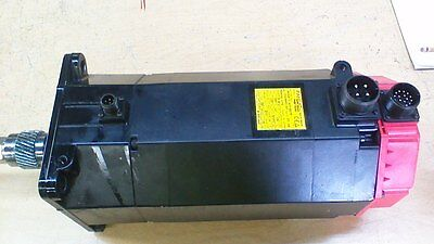 SEE NOTE W// A860-0360-V501 Encoder A06B-0147-B675 Fanuc AC Servo Motor Used