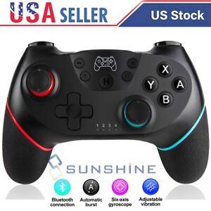 Pro Controller Wireless Gamepad Joypad Remote Joystick For Nintendo Switch NS US