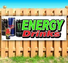 New Listingenergy Drinks Advertising Vinyl Banner Flag Sign Many Sizes Beverages