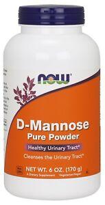 NOW Foods D-Mannose Powder, 6 oz.