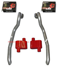 86 93 Ford Mustang Gt 50 Exhaust System Cherry Bomb Extreme 1 Chamber Mufflers