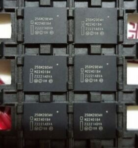 1PCS PC28F256M29EWHA Parallel NOR Flash Embedded Memory BGA64