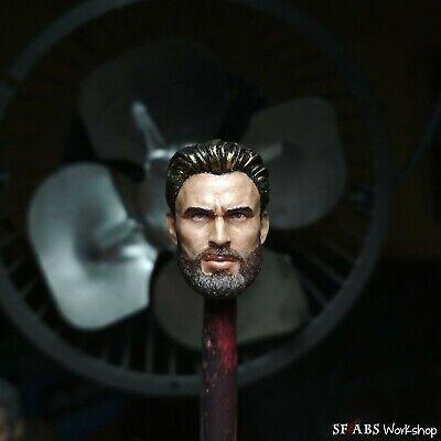SFABS Avenger Infinity Wars Steve Rogers V2 1//12 Scale Head Sculpt
