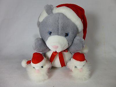 Ganz Santa's Little Helfer Teddybär Plüsch Pep Weihnachten 1992 Hohe QualitäT Und Preiswert Bean Bags