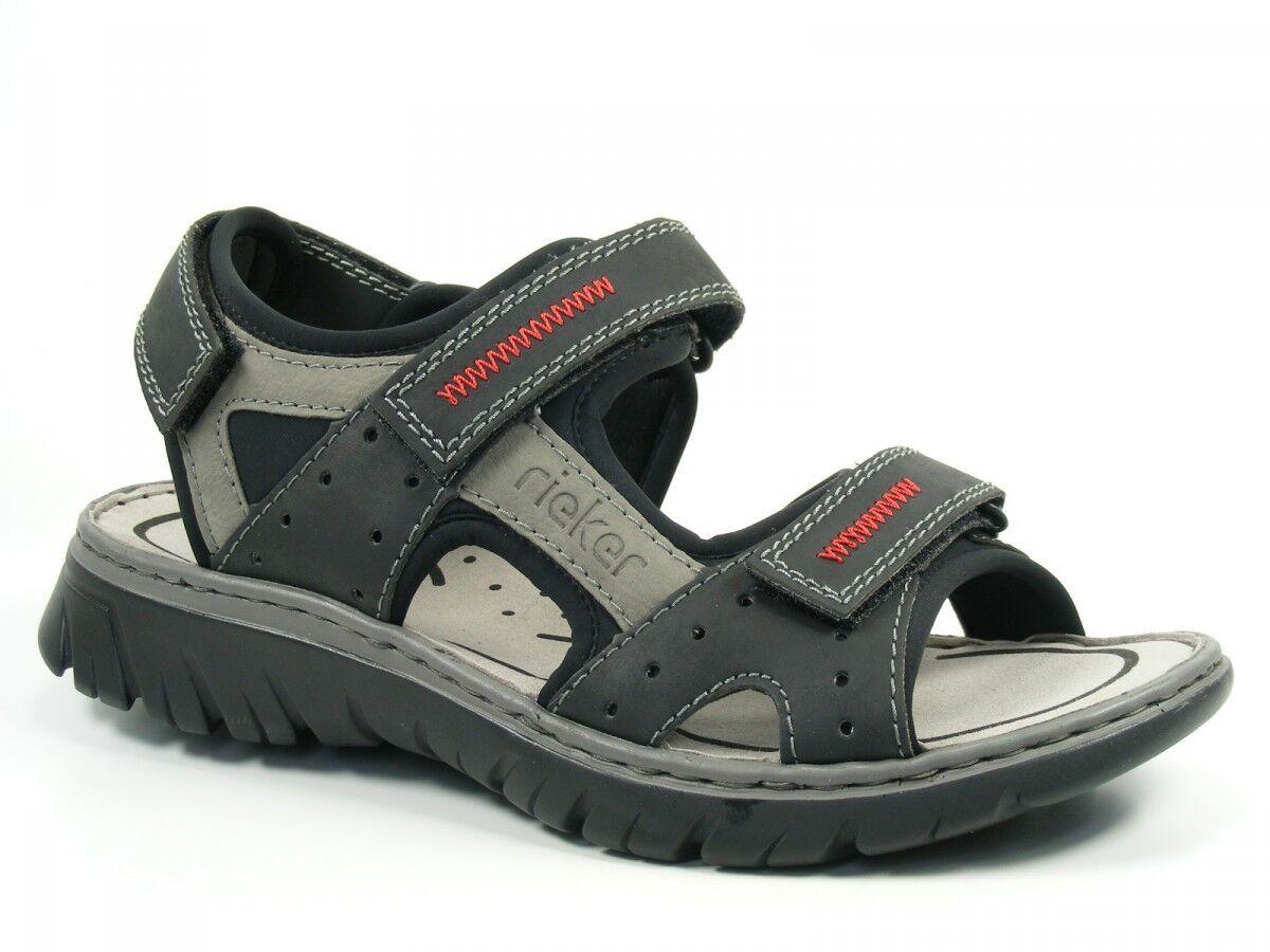 Rieker 26757-00 Schuhe Herren Trekking Sandalen