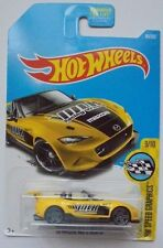 2017 Hot Wheels HW SPEED GRAPHICS 9/10 '15 Mazda MX-5 Miata 80/365 (Yellow)