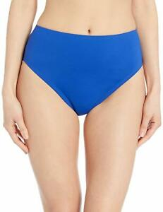 24th-amp-Ocean-Womens-Swimwear-Blue-Size-Large-L-Hipster-Bikini-Bottom-58-746