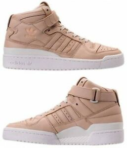 separation shoes 1ab9d 4fda6 Image is loading ADIDAS-FORUM-MEN-039-S-CASUAL-CHALK-WHITE-