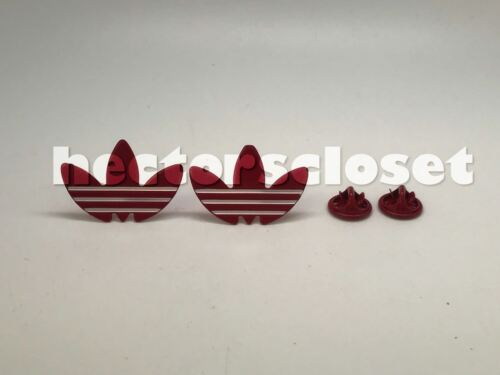 Kith Retro Lot USA 2 pcs Adidas Trefoil PIN Shoe Jacket 1 Pair