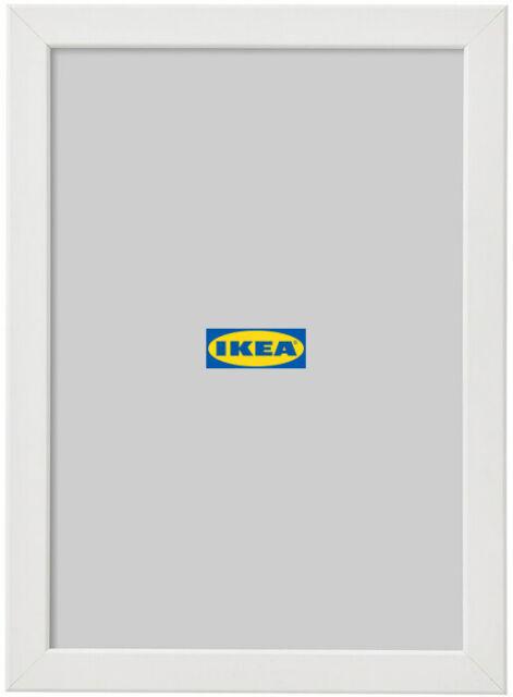 Ikea Ribba Rahmen In Weiss 23x23x4 5cm Bilderrahmen Fotorahmen Gunstig Kaufen Ebay
