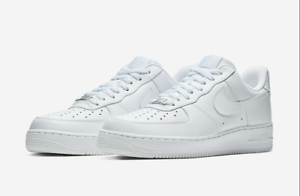 NIKE-AIR-FORCE-1-039-07-TRIPLE-WHITE-315122-111-sizes-2-5Y-14-BRAND-NEW-IN-BOX