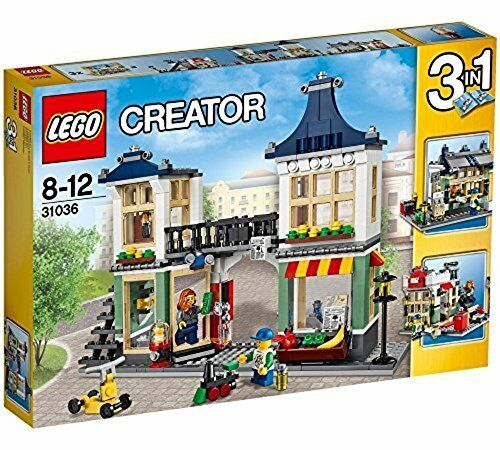 LEGO Creator Toy store and small shop in town 31036 NEW from Japan