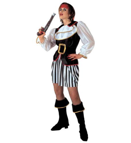 Qualità Pirata Lady Costume Caraibi Bucaniere * Vendita