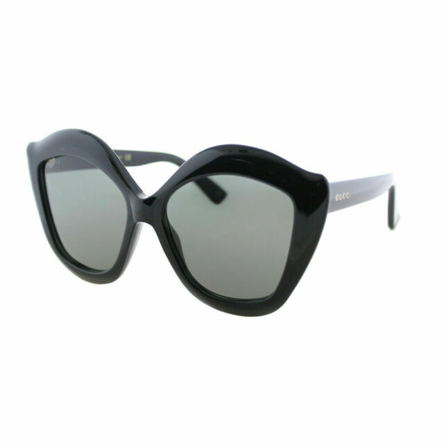 fefb80614 Authentic Gucci Gg0117s 001 Black With Grey GG 0117s Sunglasses for ...