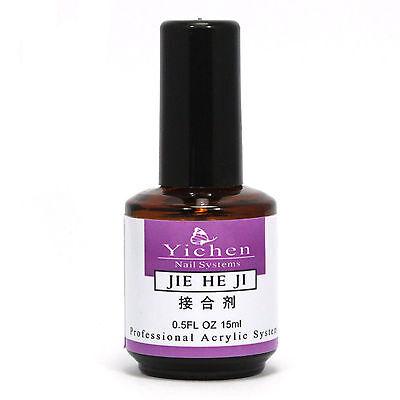 Pro Nail Art Primer Base Gel For Acrylic UV Gel Polish Tips 15ml