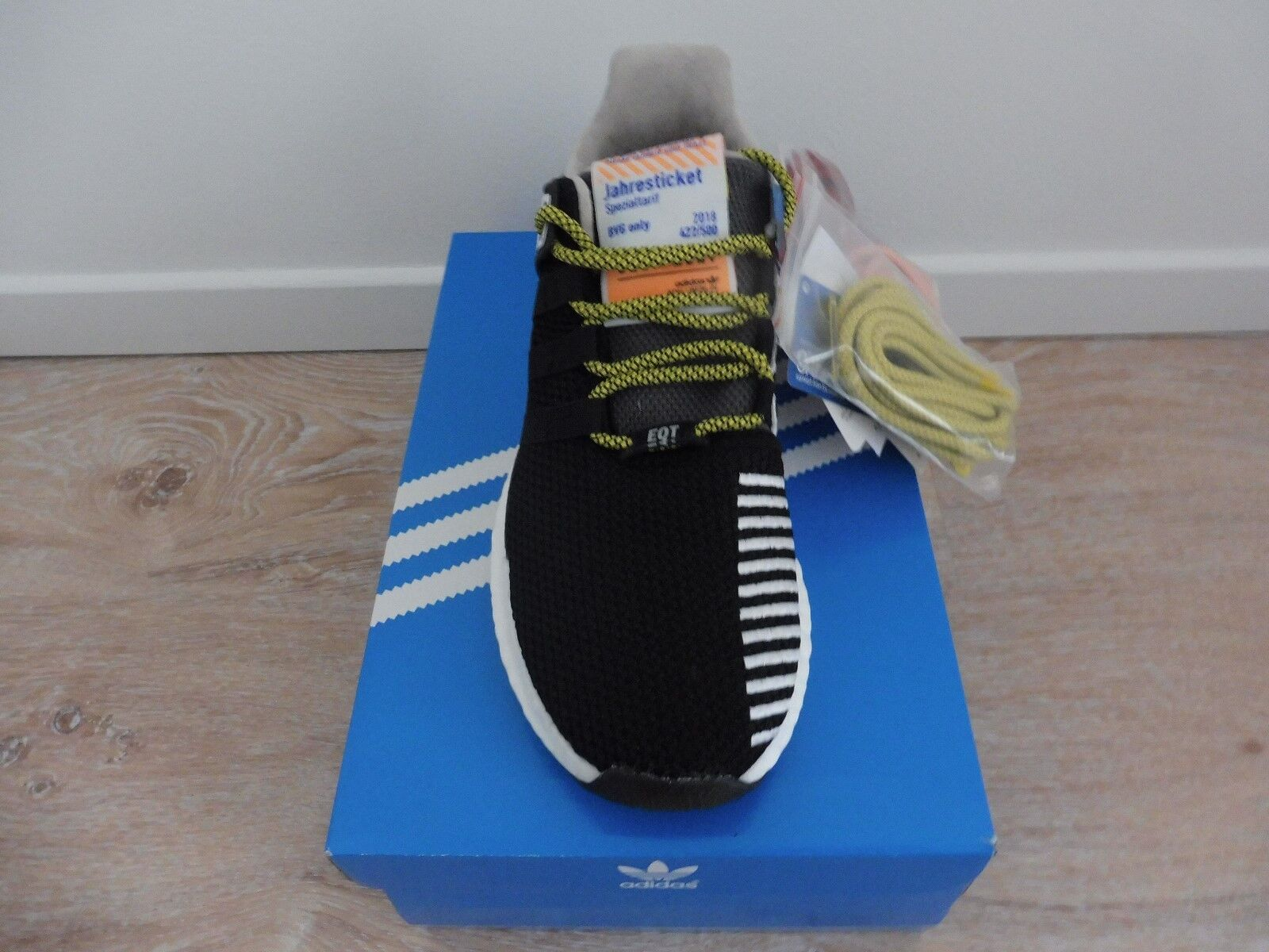 Adidas EQT Support 93 Berlin / BVG Limited Edition 422/500 NEU/OVP EU42