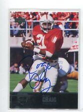 Nebraska Cornhuskers 2011 Upper Deck College Legends Football Cards #32 Roger Craig