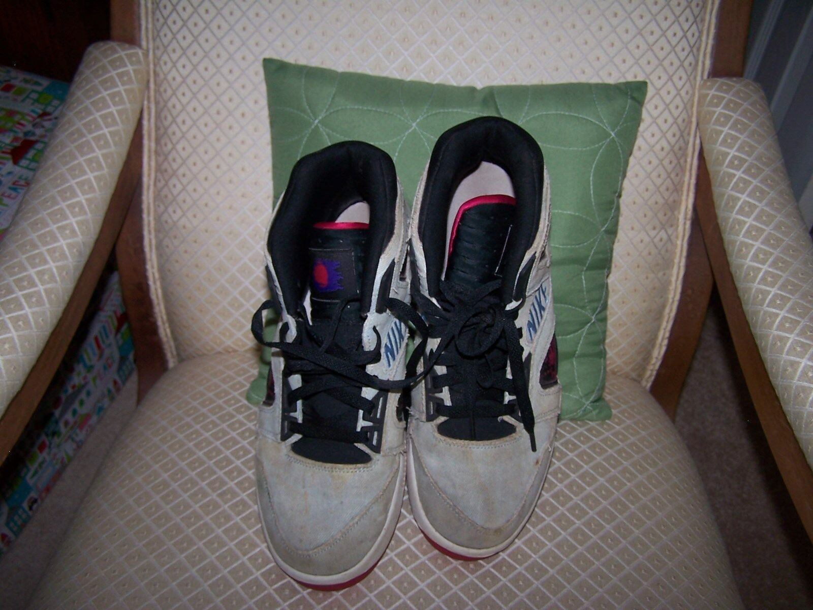 Nike Air Tech Challenge Hybrid Washed Denim Agassi 653874-400 Men shoes Sz 9.5