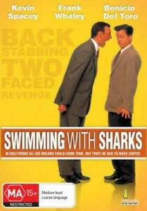 Swimming-With-Sharks-DVD-2005-Kevin-Spacey-ALL-REGION-BRAND-NEW-amp-SEALED