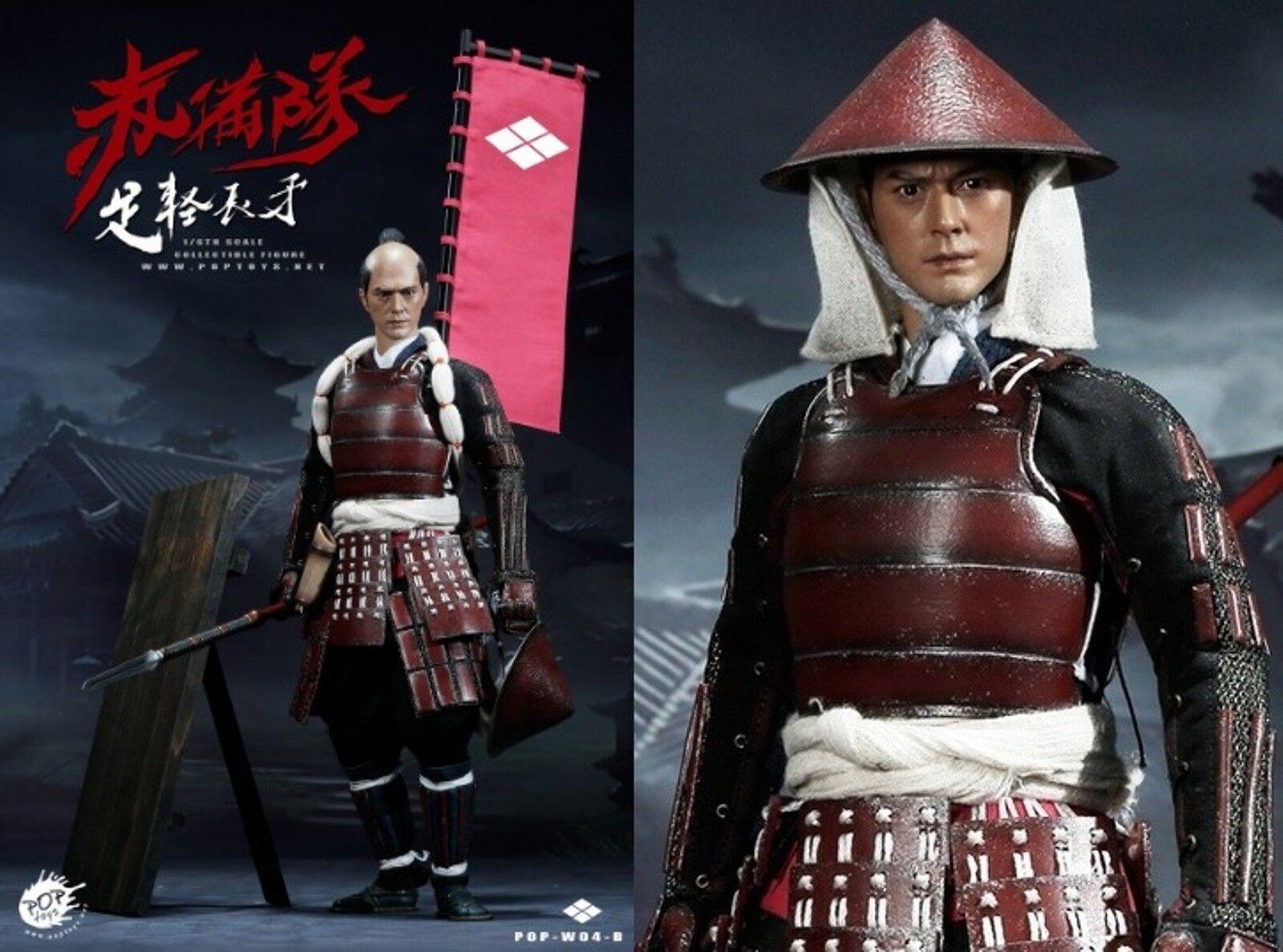 Poptoys 1 6 Maßstab Ashigaru-Spear Deluxe Version Japanisch Fuß Soldat W04b USA