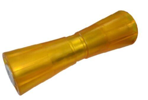 Sliprolle Bootsauflage Kielrolle Bugrolle aus Polyvinyl Farbe gelb Neu L 1064004