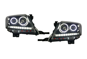 LED-ANGEL-EYES-ALTEZZA-HEAD-LIGHT-LAMP-SUIT-TOYOTA-HILUX-VIGO-SR5-2011-2015