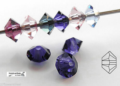 Dark Topaz color 36 Czech MC Spacer Beads 3x5mm Squished Diamond shape 5305