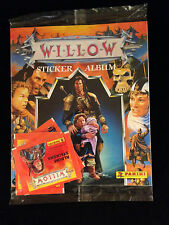 WILLOW-VINTAGE STICKER ALBUM-SEALED-VAL KILMER-GEORGE LUCAS-RON HOWARD-PANINI