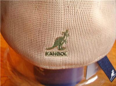 Mens Classic  Summer  Kangol  Tropic  504  Ventair  Ivy  Cap  Color  Beige