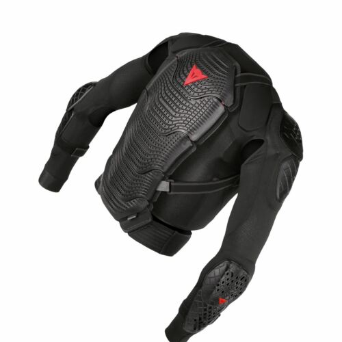 XL Armoform Manis Safety Jacket Heavy Duty With Removable Back Protector Black