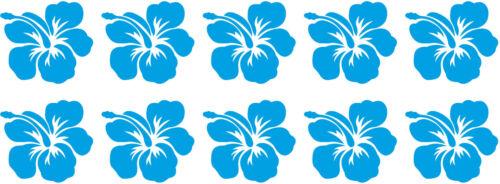 Hibiskus fleurs carreaux Autocollant Carrelage Autocollant Carrelage Décor mat//brillant h15