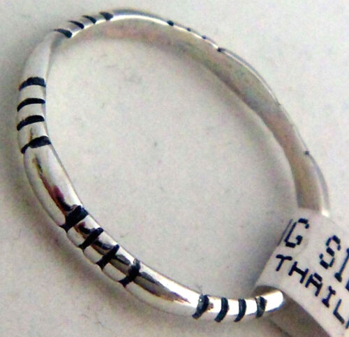 Sterling Silver Rings Wheeler Manufacturing South Dakota SR 073  NEW