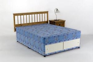 Double Divan Bed Mattress 4ft 6in Tanya Slide Storage Ebay