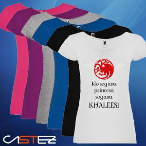 No Soy Detalles Envio Camiseta Khaleesi De Tronos Princesa Mujer Basado Juego 2448h Una 4j3A5RL