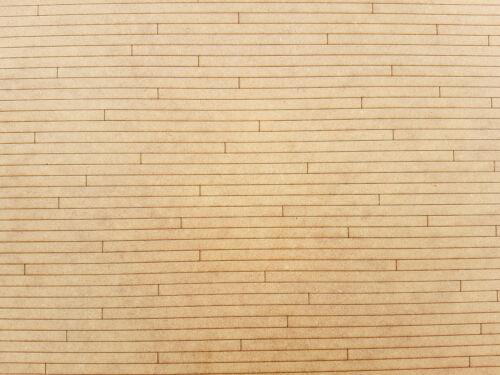 1:12TH Escala Pisos de Madera Casa De Muñecas