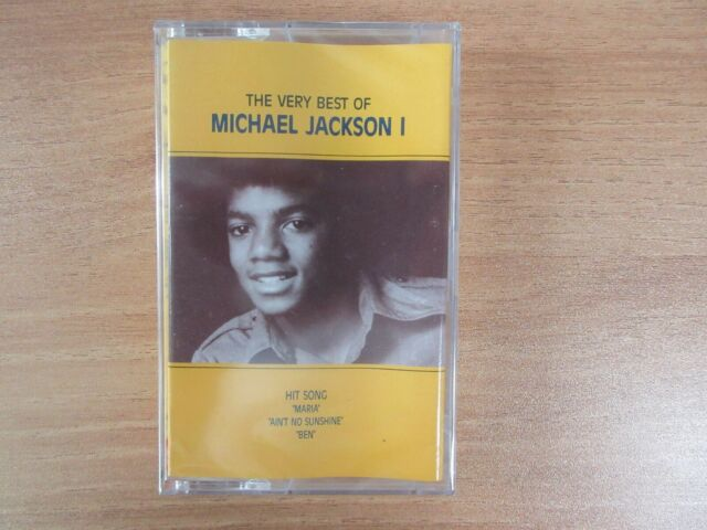 Michael Jackson - The Very Best Of 1 Korea Cassette Tape BRAND NEW