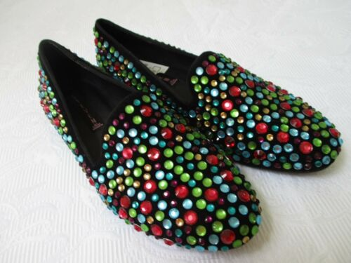 Rhinestone Multi By color 2 1 Steven New Maden 6 Shoes Size M Loafers wqHfgIgZ