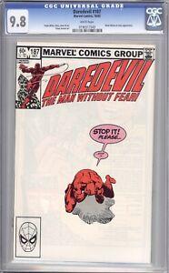 Daredevil #187 Frank Miller 9.4