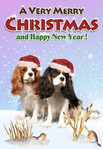 Cavalier-King-Charles-Spaniel-Dog-A6-4-034-x-6-034-Christmas-Card-Blank-inside