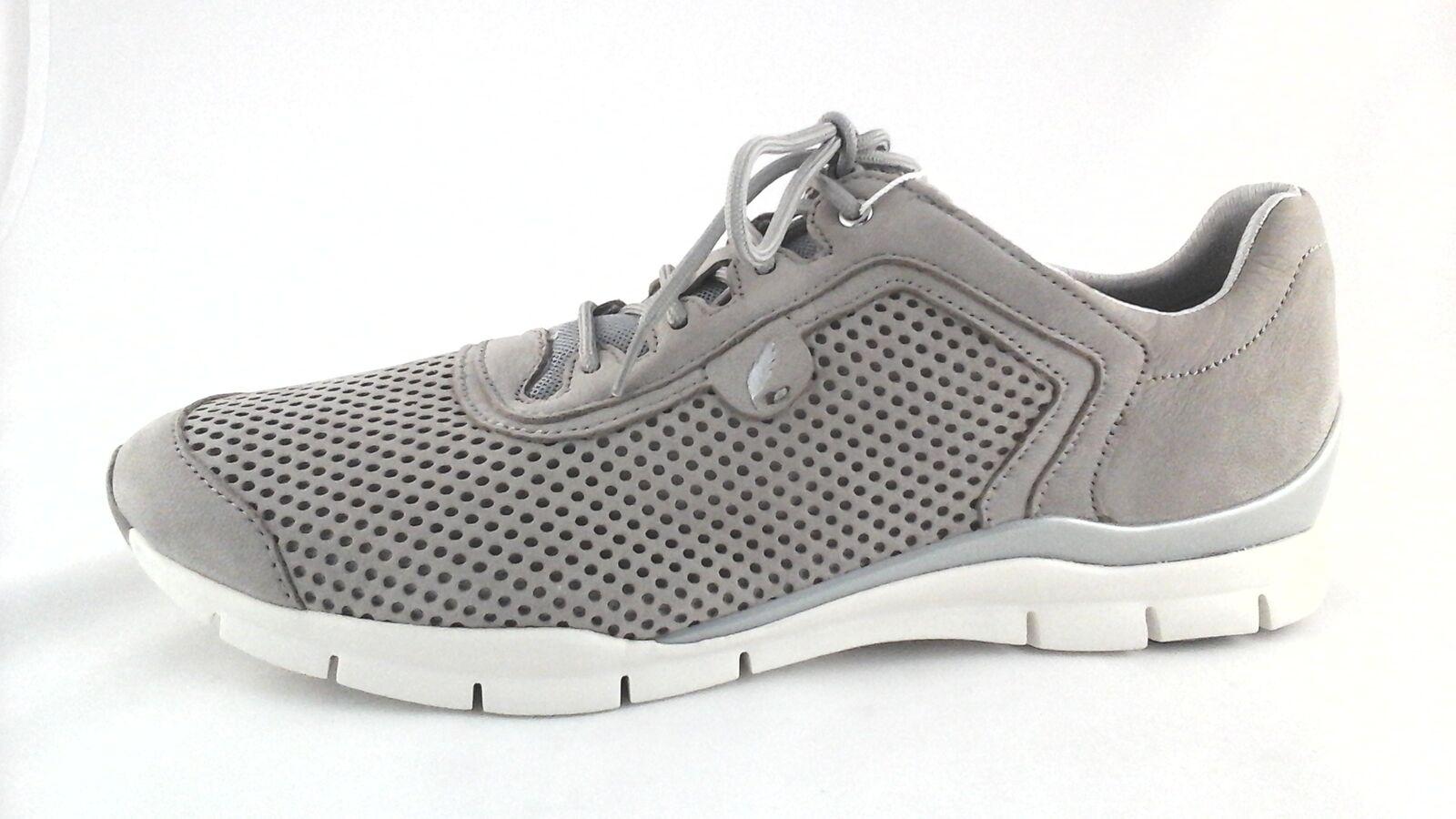 Geox respira para mujer zapatos zapatos zapatos para caminar deporte nos Marrón Topo Comfort 11 UK 8 EU 42 Nuevo Raro  en venta en línea
